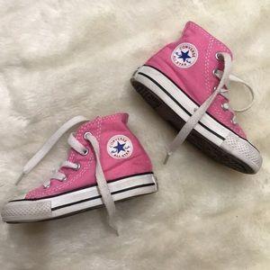 pink [Converse] Chuck Taylor All Star Core Hi Top